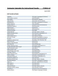Faculty by Name (PDF)