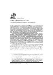 AETAS 21. évf. 2006. 2–3. szám - EPA