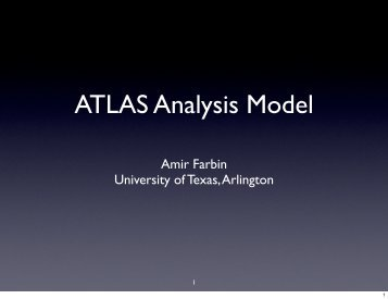 ATLAS Analysis Model - Desy