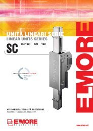 The linear motion system - Ghv