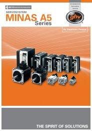 MINAS A5 Servoantriebe - Ghv