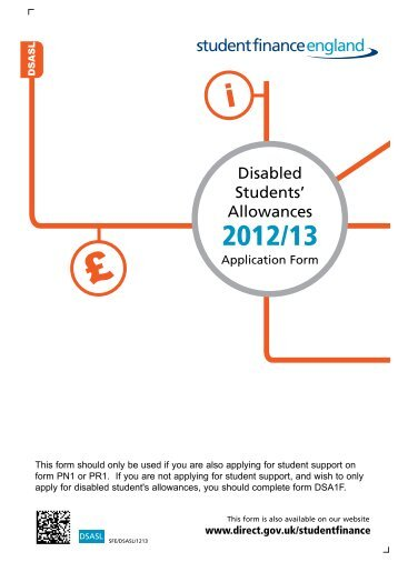 Disabled Students' Allowances - Student Loans Company