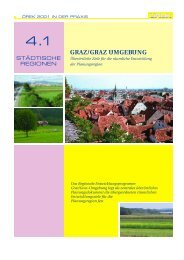 GRAZ/GRAZ UMGEBU N G - Regionalentwicklung