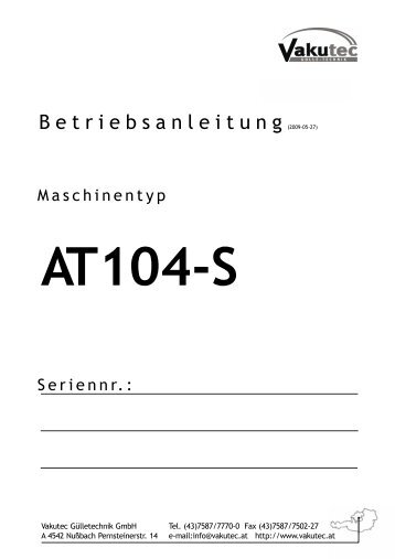 AT104-S - Vakutec