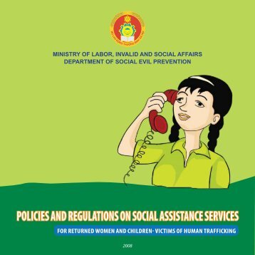 Policies & Regulations on Social Assistance Services for Returned ...