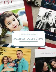 Holiday Collection 2012 - Lulubean Designs