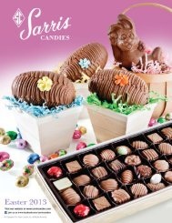 View our current fundraising brochure - Sarris Candies