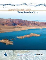 Southern Nevada Regional Water Recycling Study