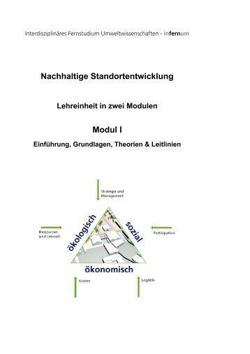 Nachhaltige Standortentwicklung Modul I - infernum