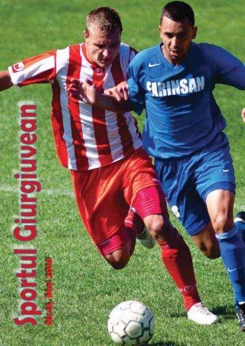 Click aici pentru a citi revista - Clubul Sportiv Atletic Giurgiu