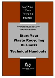 Start Your Waste Recycling Business Technical Handouts
