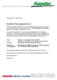 Grundkurs Fahrzeugkrane Kat. A - Aggeler AG