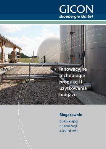 Proces produkcji biogazu GICON dwustopniowa fermentacja sucho
