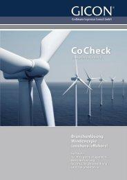 CoCheck Windenergieanlagen DE - GICON