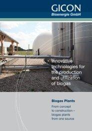 Biogas GICON EN