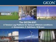 The GICON-SOF: