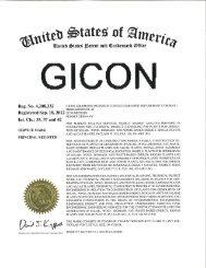 Registered Sep. 18, 2012 01219 DRESDEN - GICON