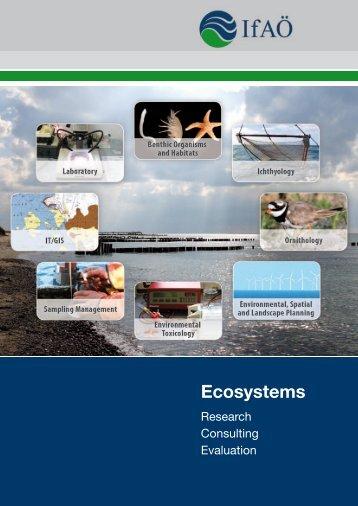 Ecosystems - GICON