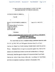Proposed Stipulated Permanent Injunction and Final Judgment ...