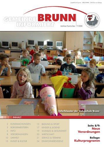 7-2008 online.pdf, Seiten 1-24 - Brunn am Gebirge