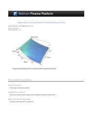 Mathematica as a Practical Platform for GPU-Accelerated ... - Nvidia