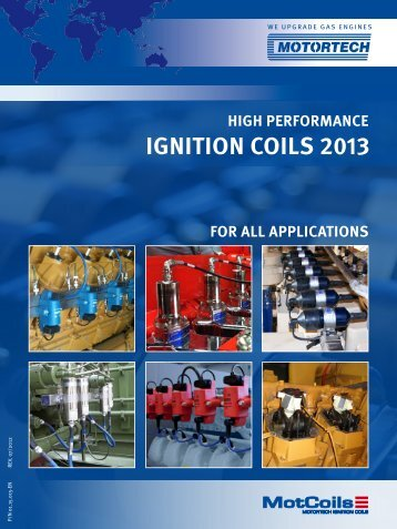IGNITION COILS 2013 - Motortech GmbH