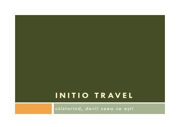AGENTIE de TURISM - initio travel