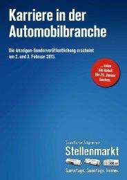 Karriere in der Automobilbranche - F.A.Z. Verlag - FAZ.net