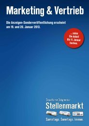 Marketing & Vertrieb - F.A.Z. Verlag - FAZ.net