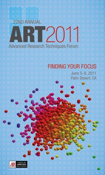 FINDING YOUR FOCUS - American Marketing Association