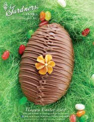 View our current fundraising brochure - Gardners Candies