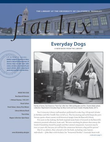 Everyday Dogs - The University of California Berkeley Libraries