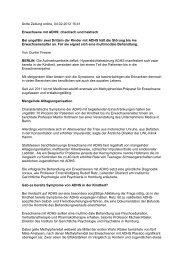 Ärzte Zeitung online, 04.02.2012 15:41 Erwachsene mit ADHS ...