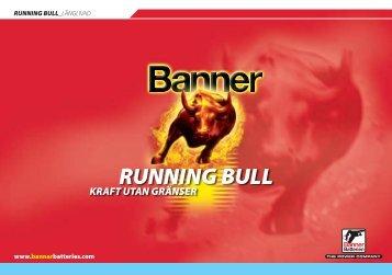 RUNNING Bull l