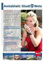 Amtsblatt der Stadt Wels März 2011 (10 MB