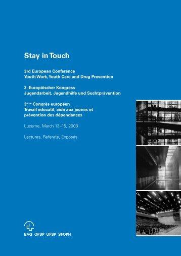 Stay in Touch - Bundesamt für Gesundheit - admin.ch