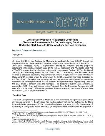 file epstein becker green