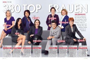 WOMAN Topfrauen Ranking 2009 - Menschen für Menschen