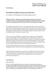 Chat-Plattform Knuddels.de startet neues Online-Game