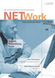 Artikel Network Ausgabe 40/2005 - FrischerWind!