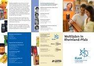 Weltladenflyer 2012 - ELAN