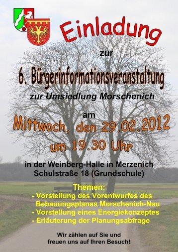 Ausgabe 16 - Stand Februar 2012 - Gemeinde Merzenich
