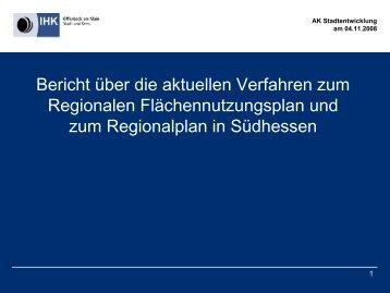 RegFNP - IHK Gießen Friedberg