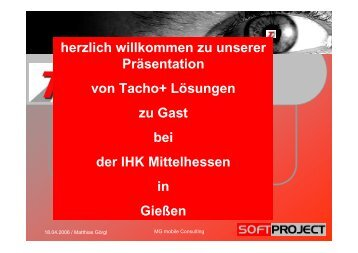 Digitales Kontrollgerät - Softwarelösungen - IHK Gießen Friedberg