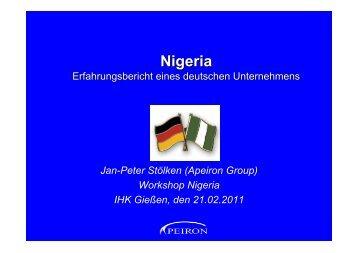 Nigeria - IHK Gießen Friedberg