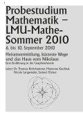 mathe-lmu.de - Mathematisches Institut - LMU - Seite 6