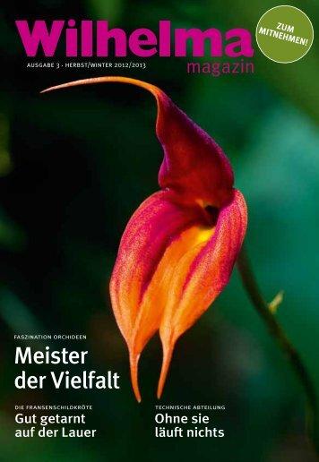 Wilhelma magazin 3/2012
