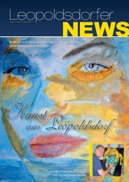 Ausgabe Nr. 3 (11-2011) PDF / 3.2 MB - Volkspartei Leopoldsdorf