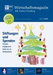 Wirtschaftsmagazin - IHK Gießen Friedberg