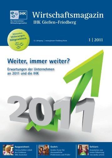 Ausgabe 01/2011 - IHK Gießen Friedberg